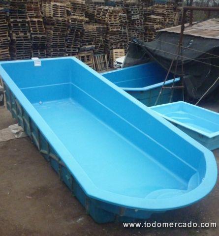Piscina de fibra de vidrio modelo rectangular 8 3 mts for Modelos de piscinas de fibra de vidrio