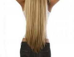 Cortinas extensiones de cabello 100 % natural segunda mano  Chile