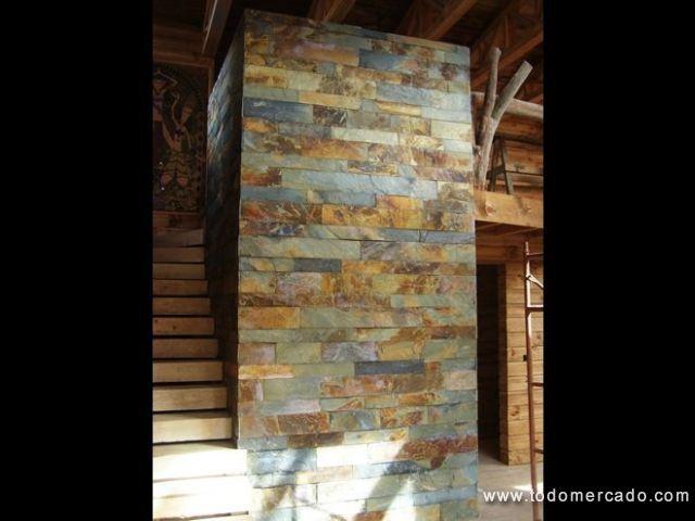 Piedra laja natural para pisos y muros todomercado chile for Lajas de piedra natural