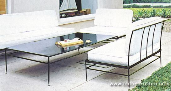 Muebles Terraza Fierro Forjado Andres Gasman Todomercado Chile