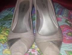 f4f0cfa1 Zapatos de charol burdeo taco chino Via Uno Numero 38 Nuevos ...