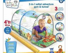 Baby Einstein – 2-in-1 Gimnasio Aventuras Safari Y Tunel segunda mano  Chile