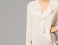 7dd1a581f79e0 Hermosa Blusa Blanca Elegante ...