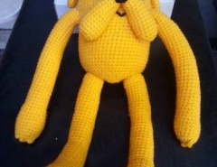 Jake The Dog, Handmade Crochet Amigurumi, Stuffed Toy, Gift ... | 185x240