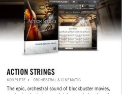 Native Instruments Action Strings segunda mano  Chile