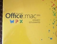 Office Mac 2011 Hogar Y Estudiantes segunda mano  Chile