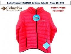 4034b433aaffb Parka Columbia De Mujer Original