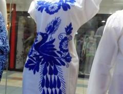 2f3314bec4 Vestido En Algodón Bordados A Mano Traido Desde Mexico.   35.000. vestidos  Mexicanos bordado a mano por las indigenas Nahuas