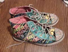 Zapatillas De Niñita Con Luces, 35 segunda mano  Chile