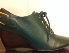 287841ce Zapatos Vía Uno Cuero Nº 35. $ 20.000. Lindos zapatos de cuero marca ...