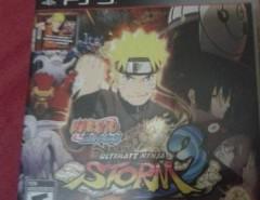 Naruto Ultimate Ninja Strom 3 Ps3 segunda mano  Chile