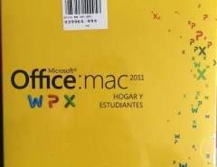 Office Mac 2011 segunda mano  Chile