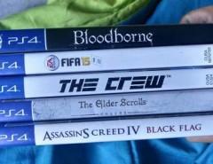 Bloodborne, The Crew, The Elder, Fila 15, Ac Black Flag segunda mano  Chile