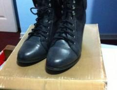 10 37 Como Cm Taco Reina Coquimbo Nuevos Negros Aziz Zapatos La Alto 1IRWK