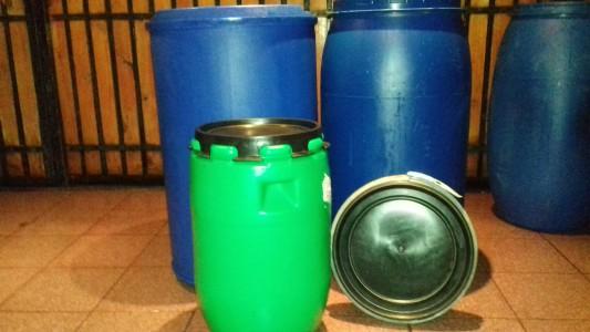 Tambores plasticos todomercado chile for Tambores para agua potable