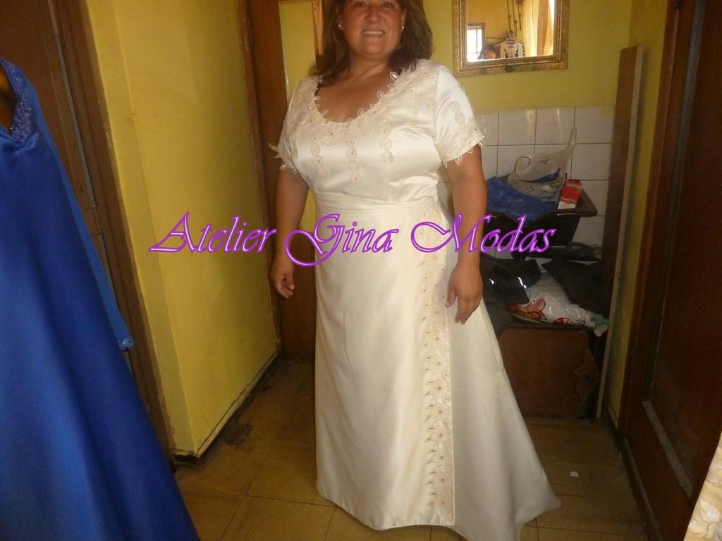 Confeccion del vestido de novia