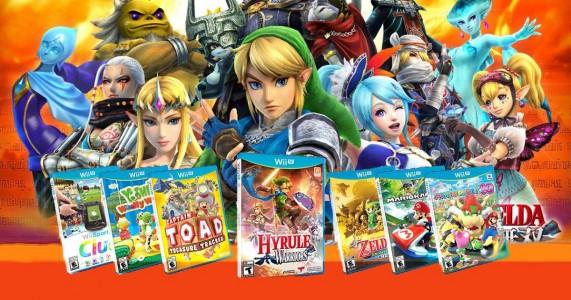 Juegos Wii U en SD