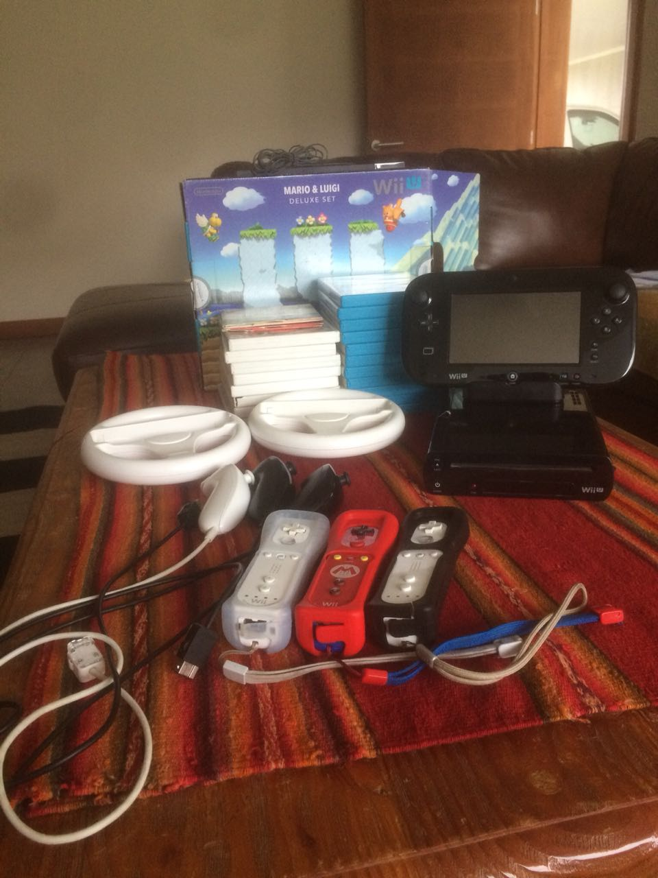 Nintendo Wii U 19 Juegos Accesorios Todomercado Chile