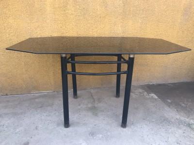 OFERTA / Mesa Comedor Vidrio elegante + 4 sillas ...