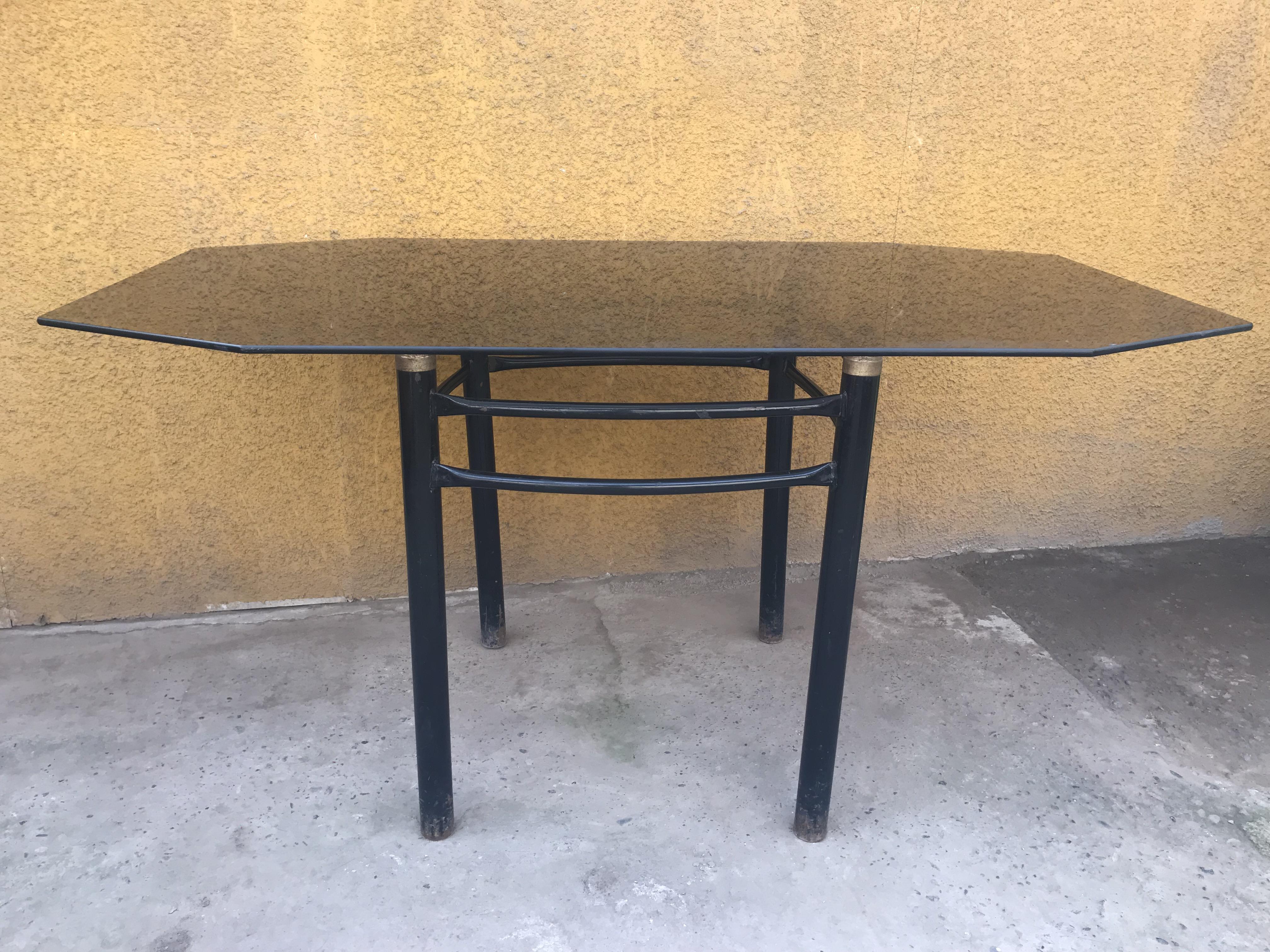 OFERTA / Mesa Comedor Vidrio elegante + 4 sillas | TodoMercado Chile