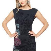 d4a4c440ca7 Vestido Chrystel Azul Oscur...   52.490 · Guardar · Vestido Karin  Multicolor Desigual - Calce Regular