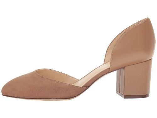 1edc0b75faa Zapato Mujer Nine West Cabrie Café Tacón Medio -   48.598 en eShops ...