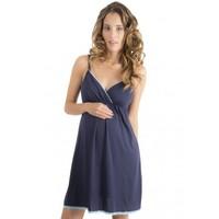 el precio más barato Para estrenar imágenes detalladas Eshops Chile - Camisa de dormir pijama maternal para embarazo y ...