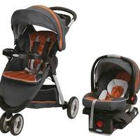 64f76a1da COCHE TRAVEL SYSTEM GRACO FASTACTION SPORT TANGERINE SISTEMA LATCH